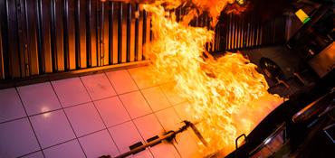 Restaurant Fire Damage