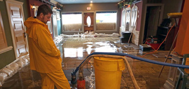 Restaurant Flood Damage