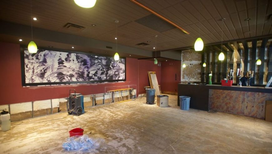 Restaurant Flood Damage